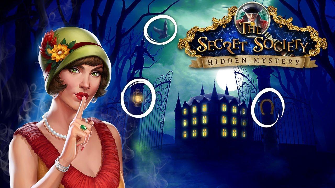 secret society hidden objects