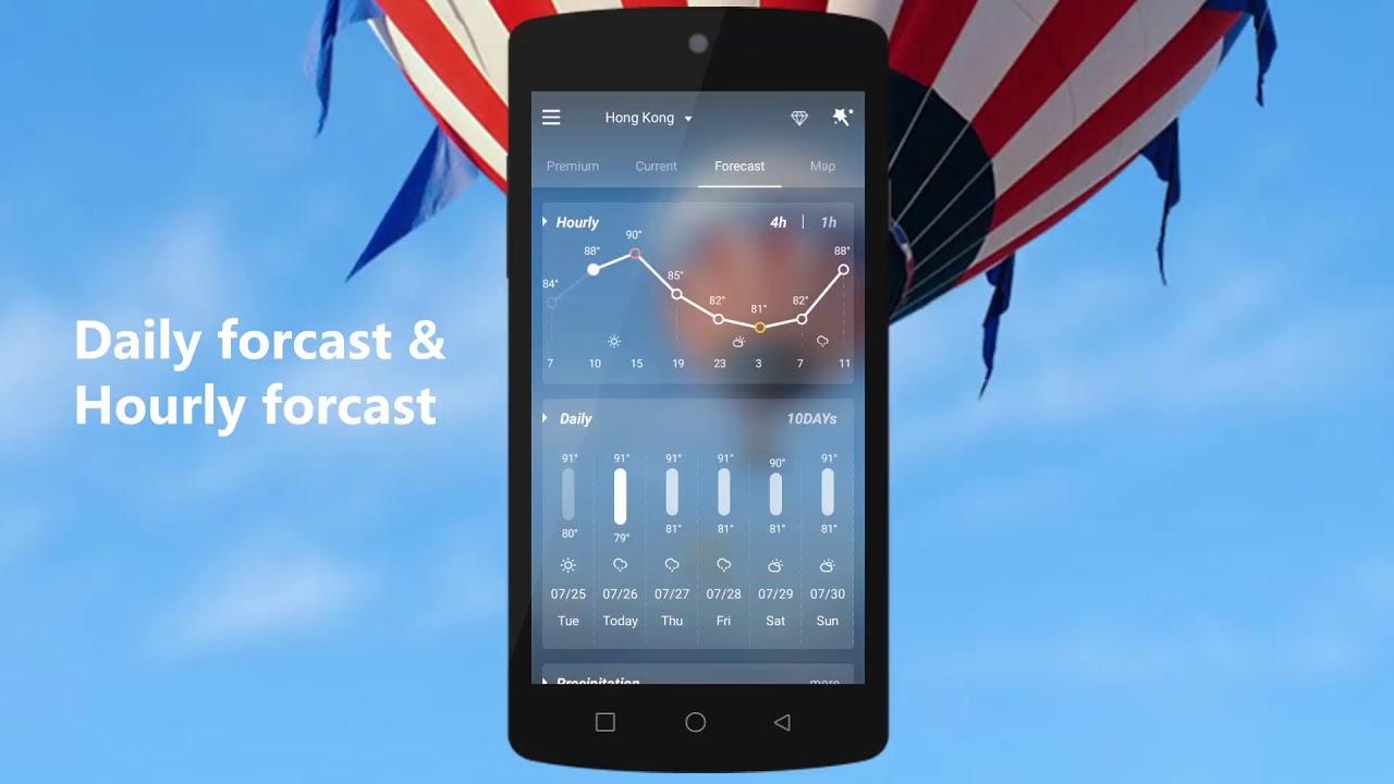 Download GO Weather - Widget, Theme, Wallpaper, Efficient from myket